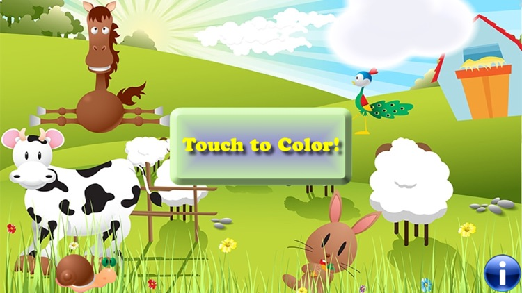 Coloring Book the Country Farm