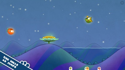 Tiny Wings Screenshot on iOS