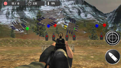 Shooting practice with bottles screenshot two