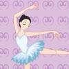 バレリーナ!バレエについての女の子のためのゲーム: 学ぶ パズルと幼稚園、保育園や保育所、学校のために:ダンサー、人形、靴、ドレス、プリンセス、バレ、音楽、レッスン、クラス - iPhoneアプリ