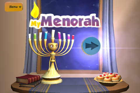 My Menorah 4 Chanukah - náhled