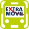 The official ExtraMove App has a range of features designed to make it easier for you to get around on ExtraTo buses