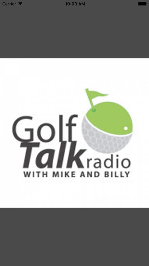 Golf Talk Radio App 截图