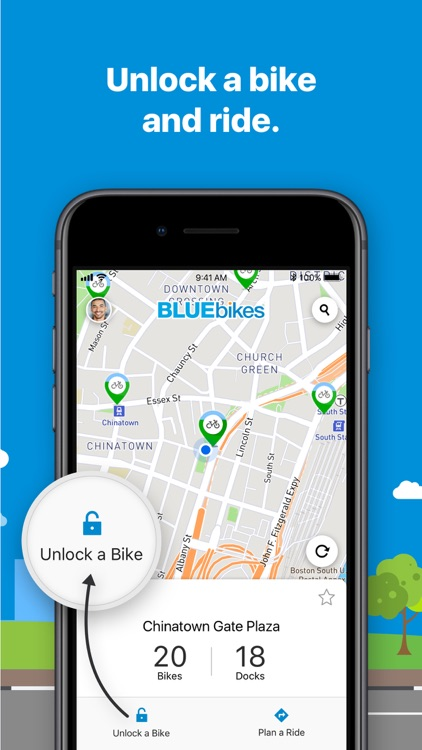 Bluebikes screenshot-2