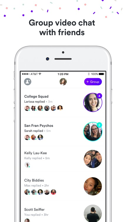 Frisbee - Group Video Chat