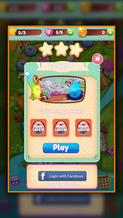 Jelly Monster - Match 3 screenshot two