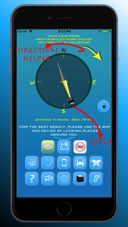 Qibla Finder, Qibla Compass AR screenshot-4