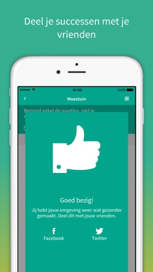 Tuintalent in de app store for Tuinontwerp app