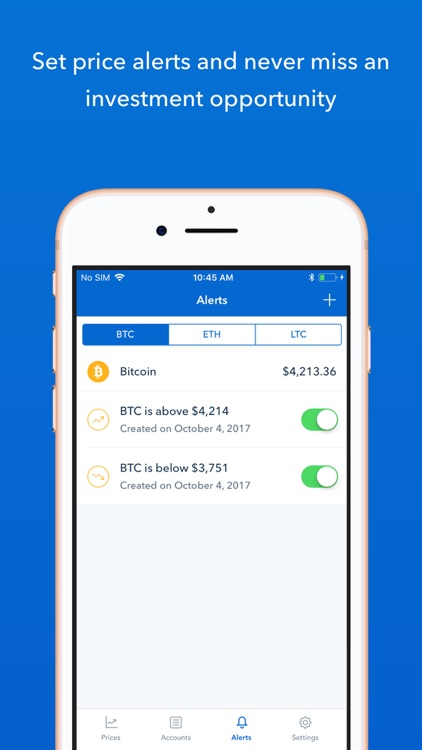Coinbase – Buy & sell bitcoin screenshot-3