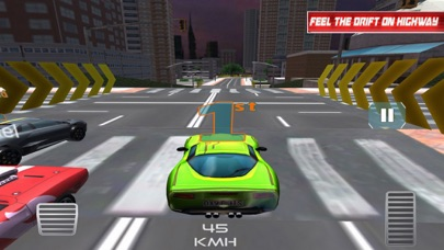 Racing Car:Smart City 2018 screenshot 3