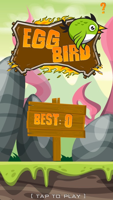 Egg Bird - Arcade Game screenshot 1