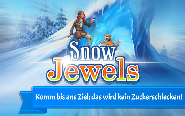 Snow Jewels Puzzle Screenshot