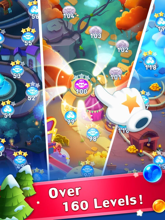 Bubble Shooter Genies HD screenshot-4
