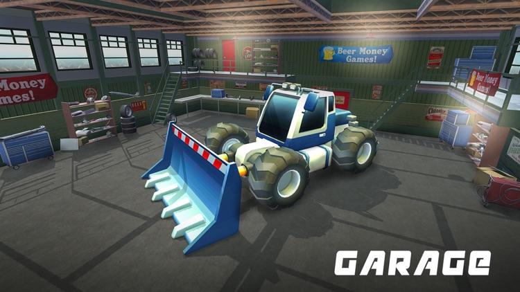 Mega Ramp Excavator Stunts Sim