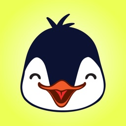Cute Penguin Stickers.!
