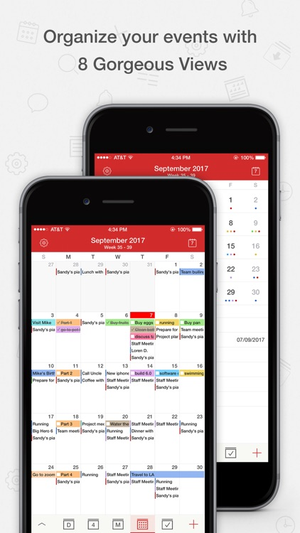 Tiny Calendar Pro screenshot-1