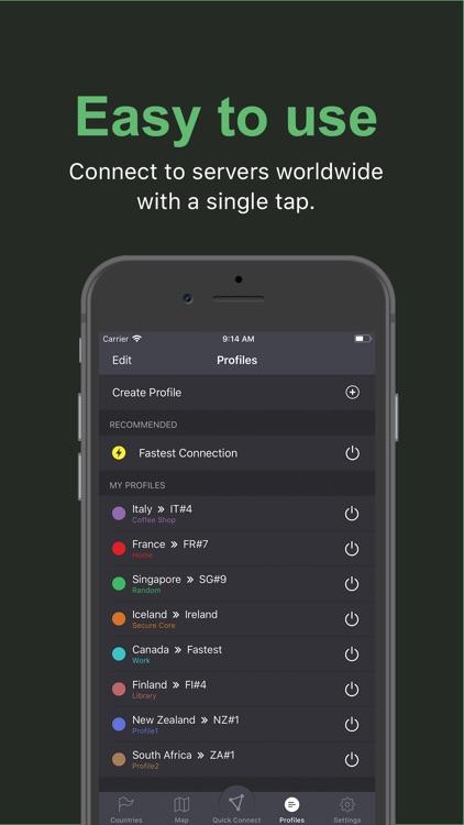 ProtonVPN - Fast & Secure VPN screenshot-4