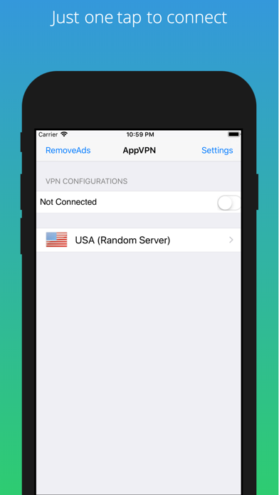 VPN Unlimited Proxy AppVPN by WCOMES TECHNOLOGIES CO ,LIMITED (iOS