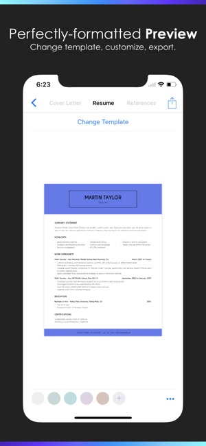 Resume Builder by Nobody Screenshot