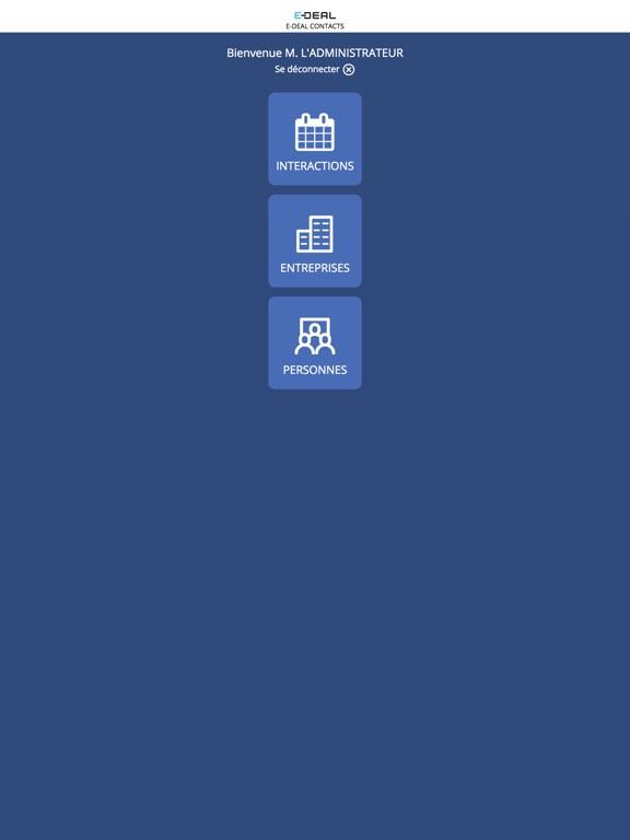 iPad Image of E-DEAL Contacts V2