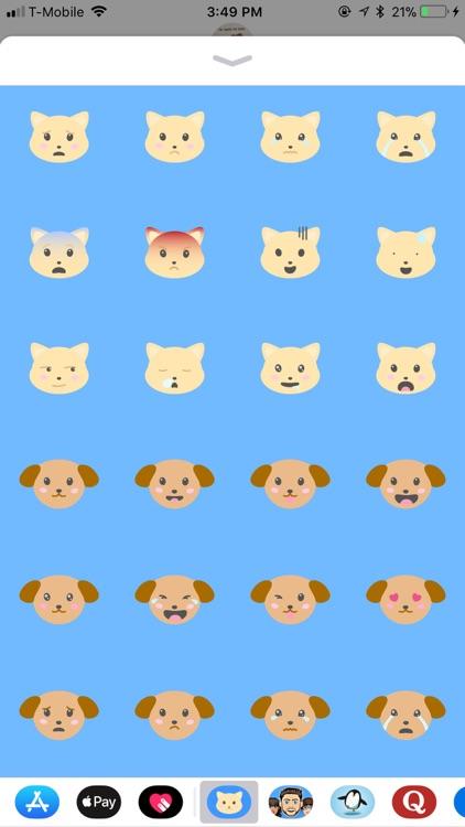 Animal Moji - Cute Pet Emojis screenshot-4