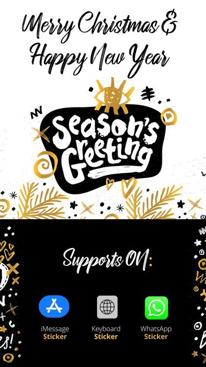 Season's Greeting.