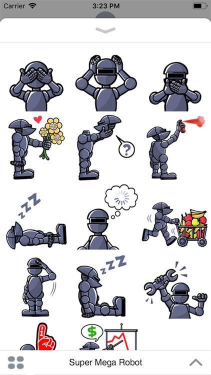 Super Mega Robot Sticker Pack screenshot-3