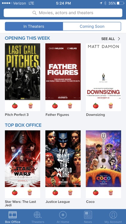 Flixster - Showtimes + Tickets screenshot-0