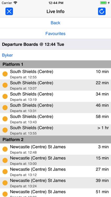 Tyne and Wear Metro by Zuti screenshot-4
