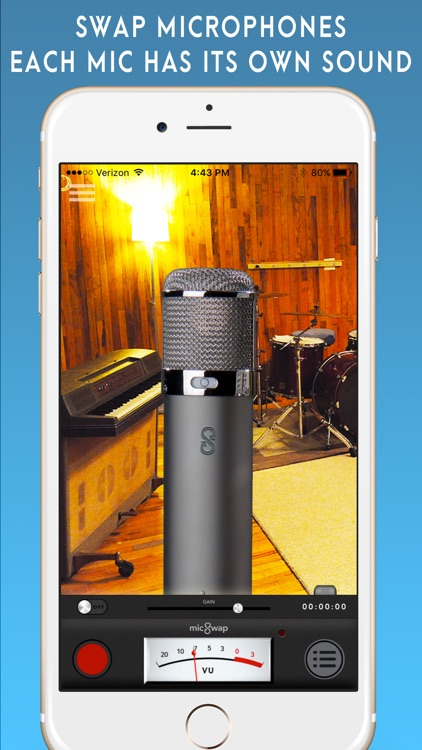 MicSwap: Mic Modeler, Recorder screenshot-0