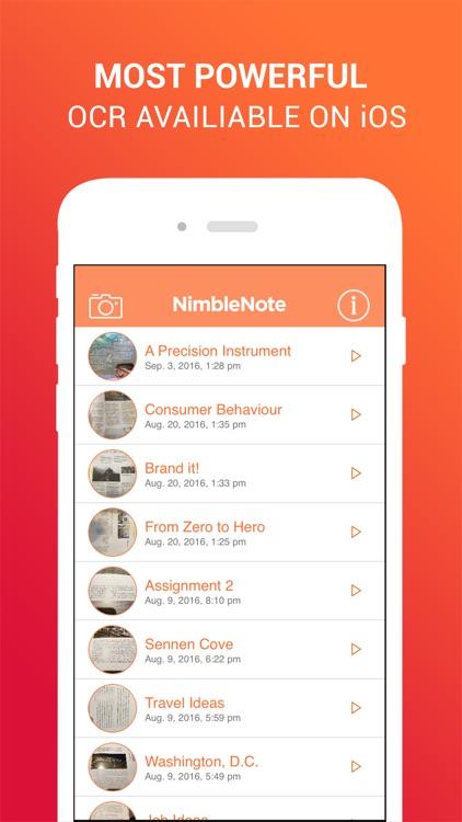 NimbleNote | OCR EduCreations screenshot-3