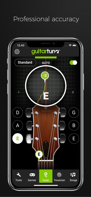 Guitartuna Guitar Bass Tuner On The App Store