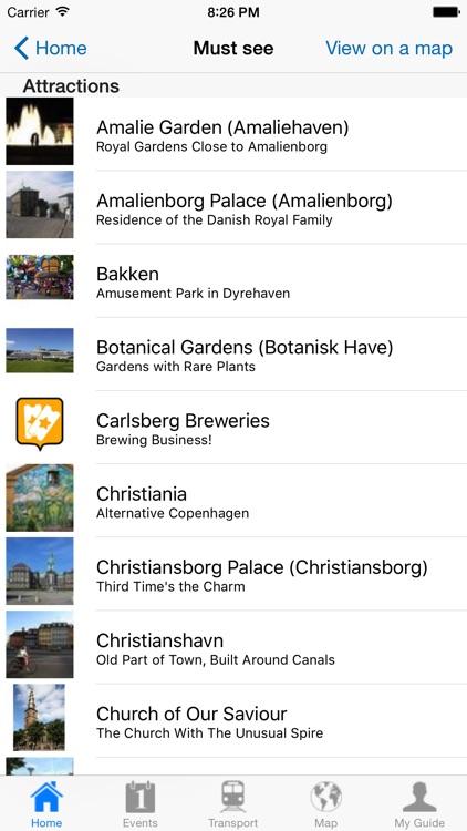 Copenhagen Travel Guide Offline screenshot-3