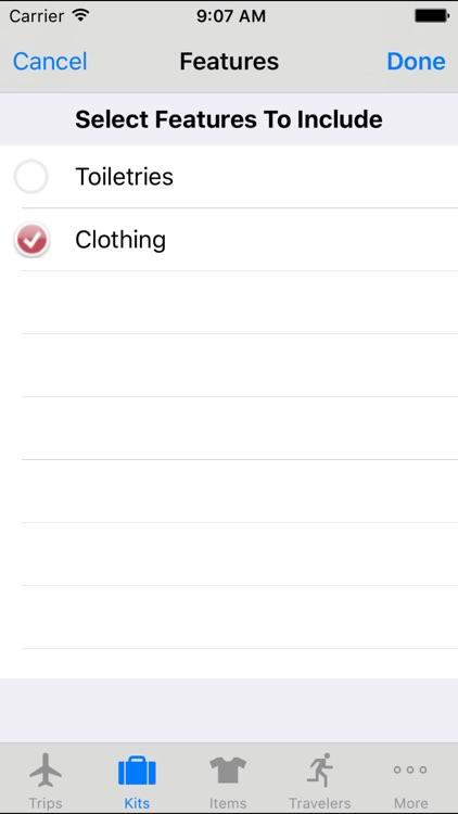 PackIt - Best Packing List App screenshot-3