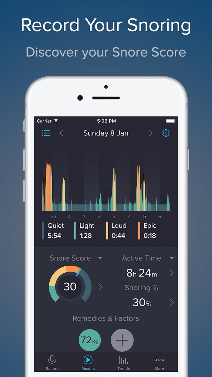 SnoreLab : Record Your Snoring Screenshot
