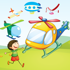 Adventurous Helicopter Race Kid-s Game: Learn-ing For Boys and Girls