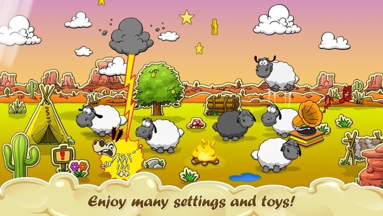 Clouds & Sheep screenshot-2