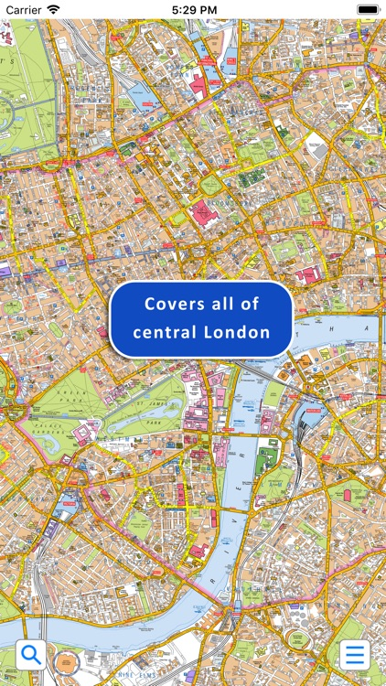 Central London A-Z Street Map screenshot-1