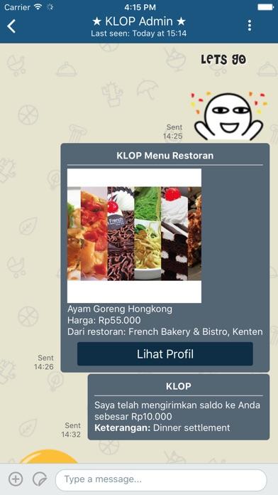 KLOP screenshot