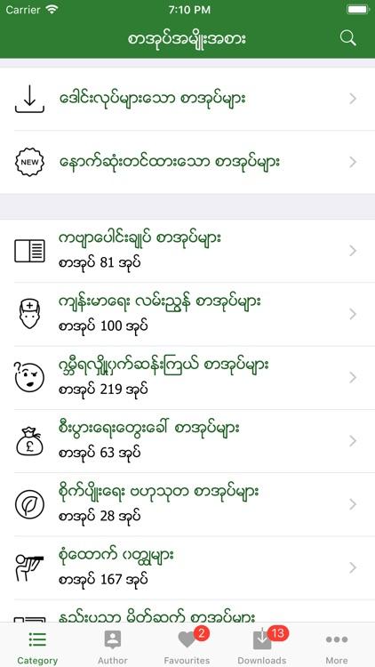 MM Bookshelf - Myanmar Books