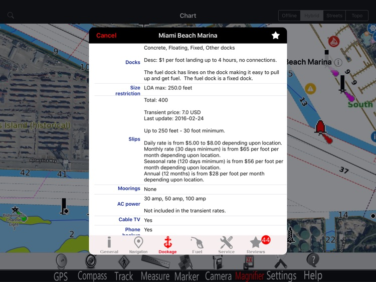 Lake St. Clair GPS Charts Pro screenshot-1