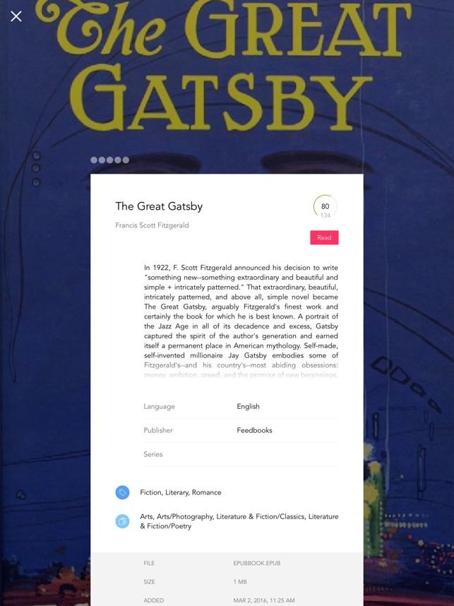 Bookari ebook reader premium on the app store fandeluxe Image collections