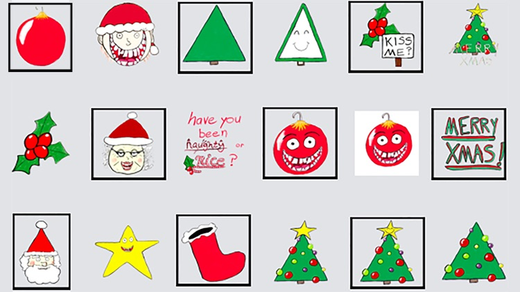 Xmas Doodlez Stickers