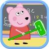 小熊佩奇打扫教室-打扫卫生游戏