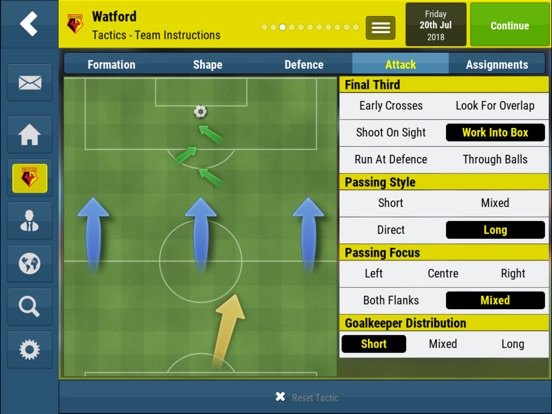 Football Manager Mobile 2018 screenshot 7