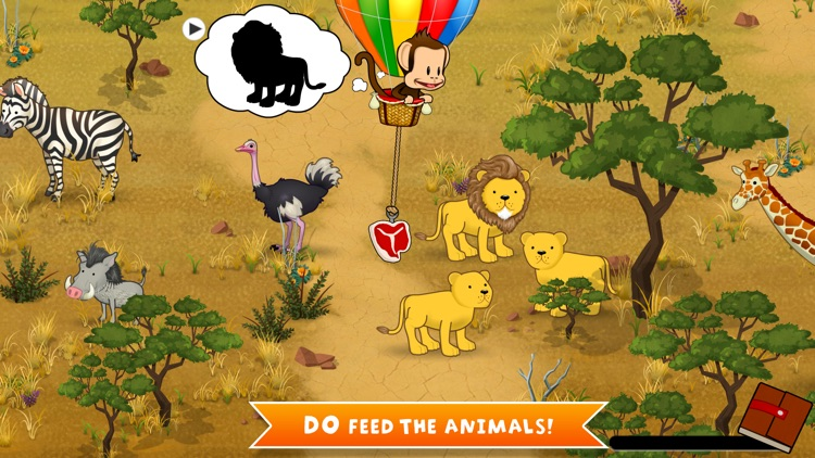 Monkey Preschool Animals screenshot-1
