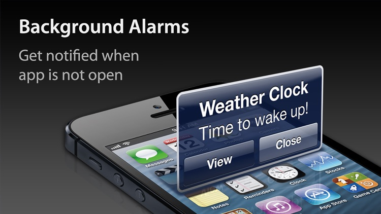 Weather Clock - Alarm & Weather Forecast screenshot-3