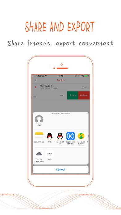 Recorder - Voice & Audio screenshot three