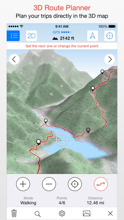 Maps 3D PRO - Outdoor GPS screenshot-3