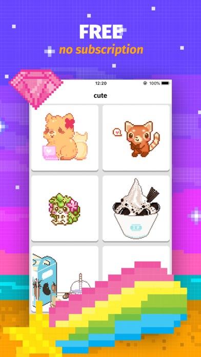 Color Book: Cute Pixel Art App by Danylo Herasymovych (iOS, United ...